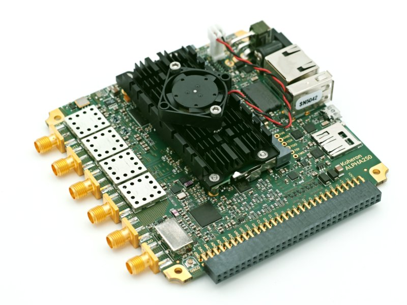 Koheron 250 MSPS acquisition board