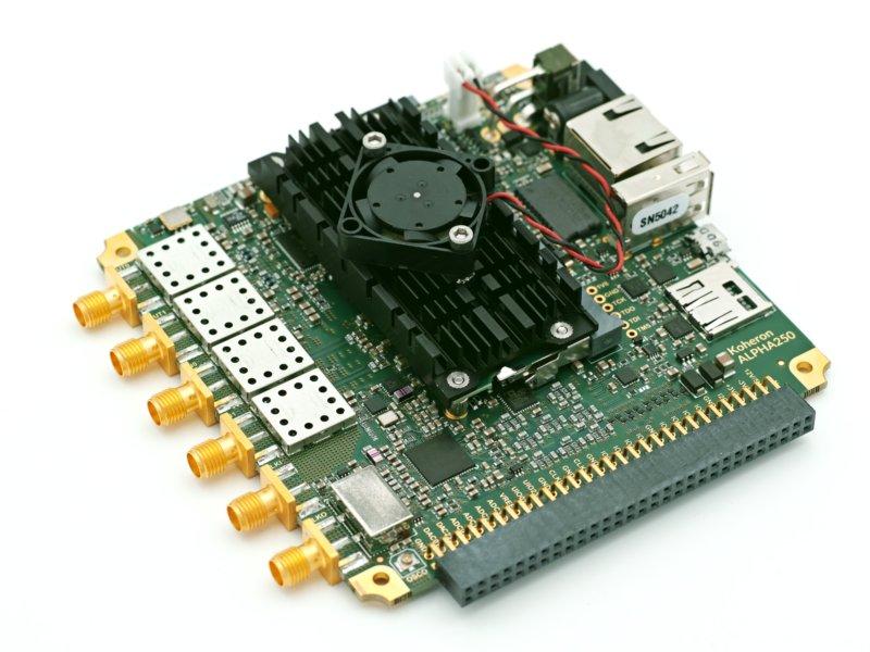 ALPHA250 250 MSPS FPGA Zynq board