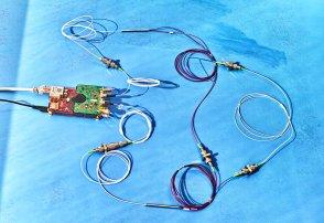 A simple coherent laser sensor