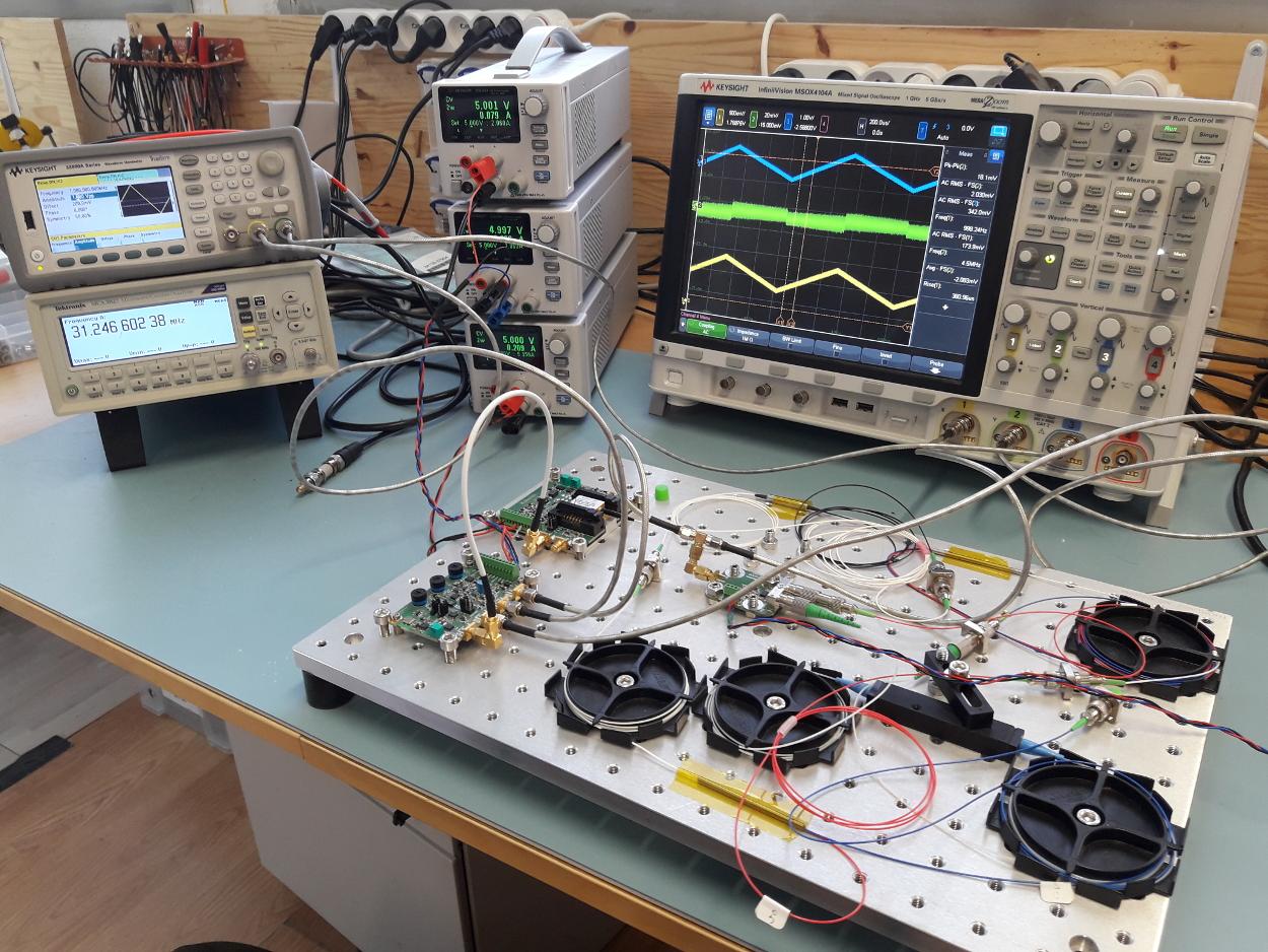 Laser frequency stabilization