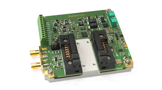 400 mA low noise butterfly laser controller