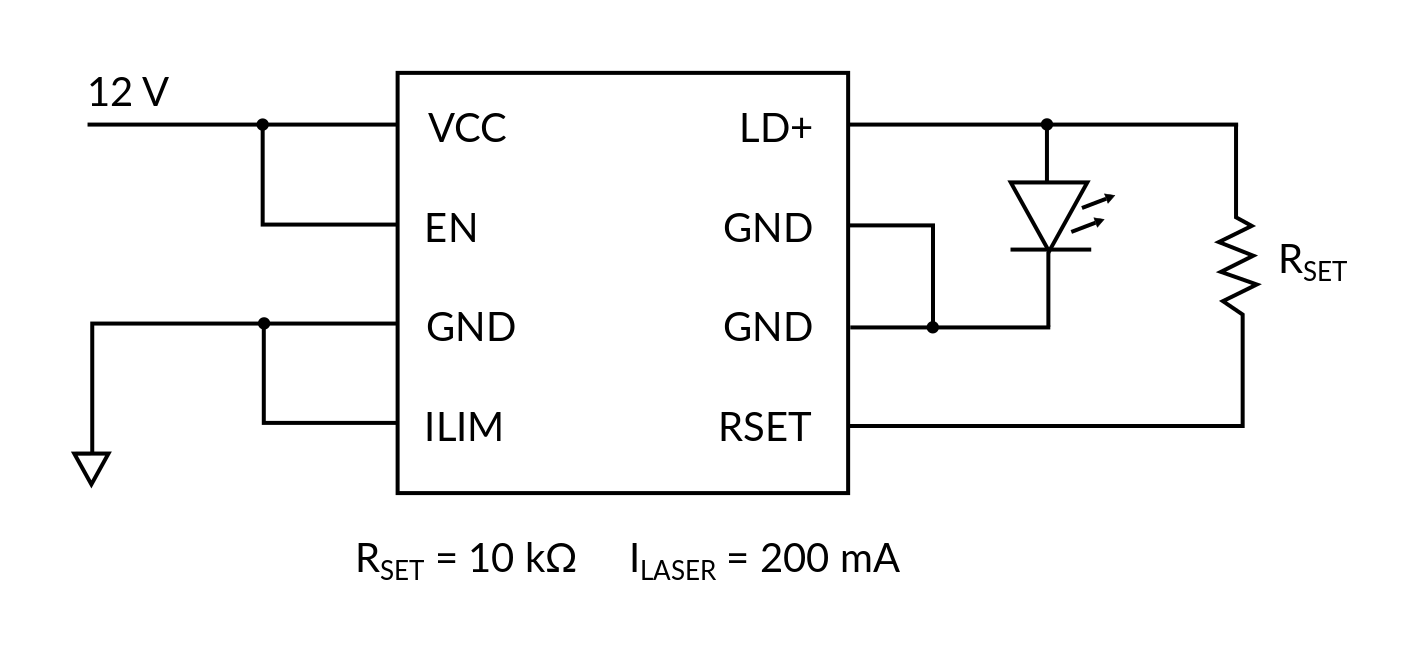 DRV10 Electrical connections