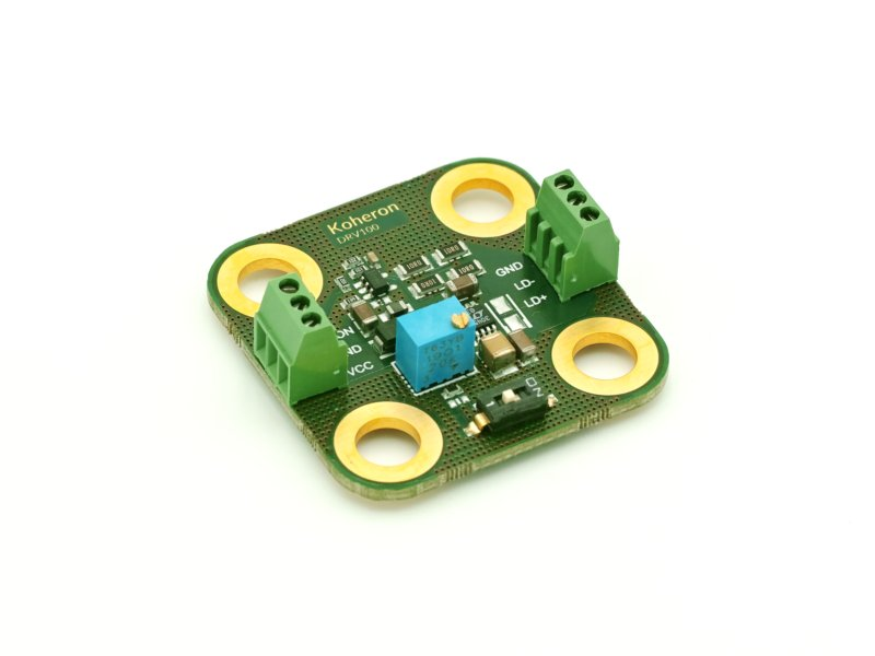 Low noise laser diode driver