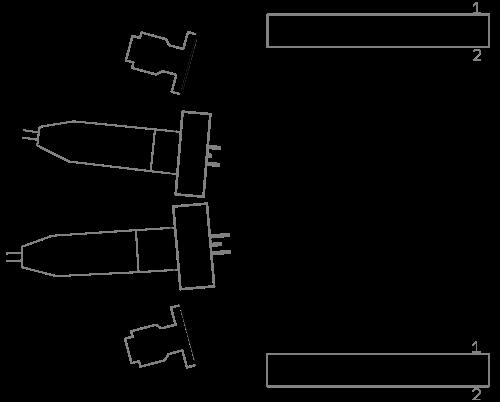 LBRP dimensions and connectors