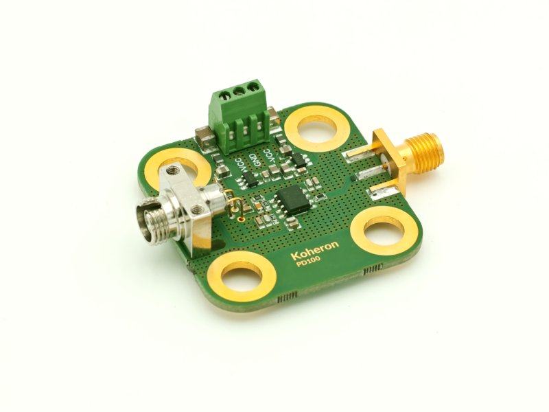 PD100 - Photodetector with integrated transimpedance amplifier for coherent sensing