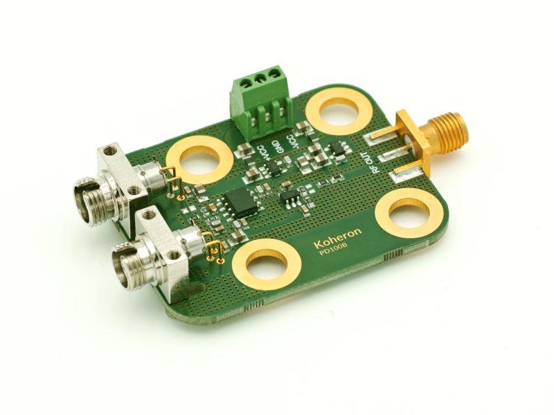 100 MHz balanced photodetector
