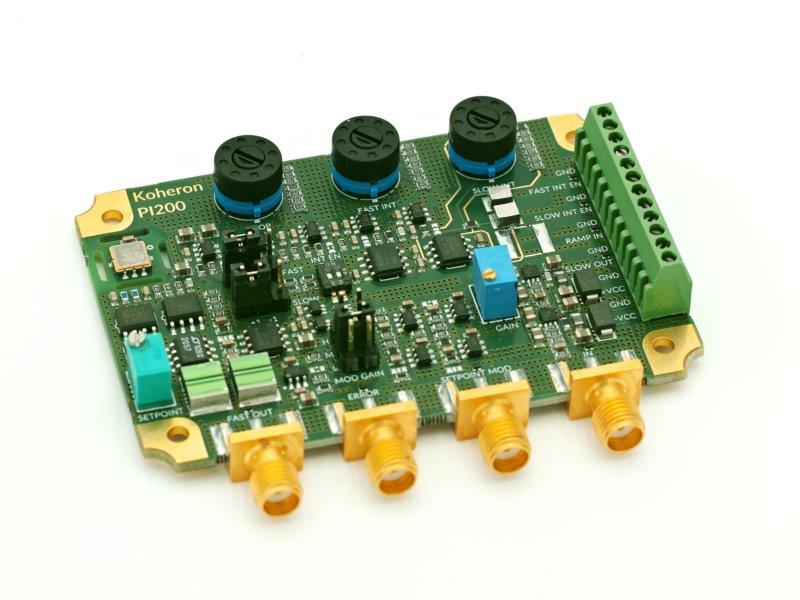 Laser servo controller