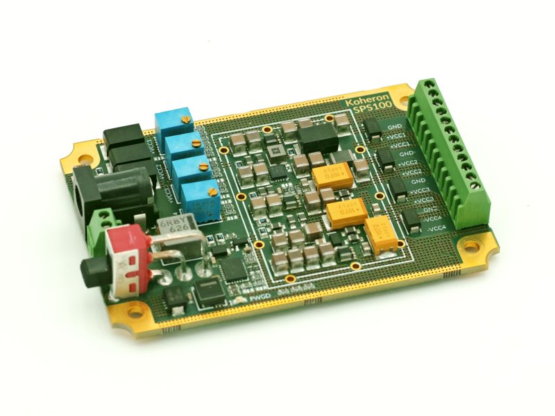 Quad-channel adjustable power supply