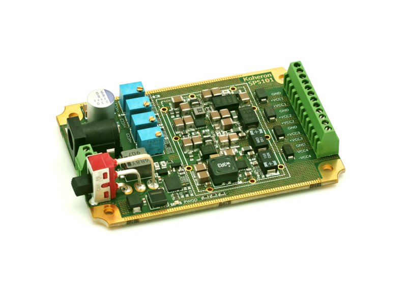 Quad-channel adjustable power supply