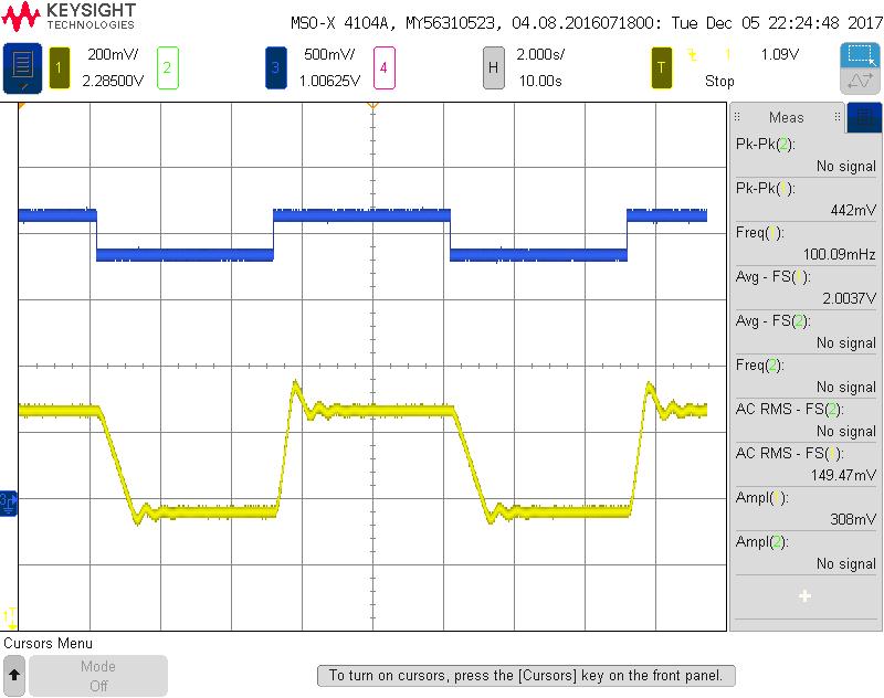 TEC100L GAIN1 damped