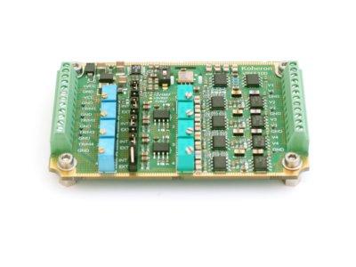 Quad-channel bipolar voltage source